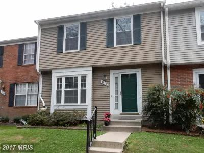 Columbia Townhouse For Sale: 10340 College Square