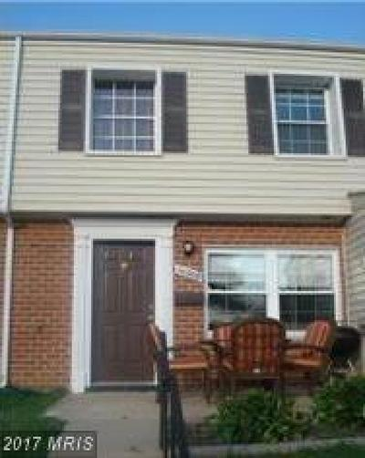 Laurel Townhouse For Sale: 9600 Homestead Court #D