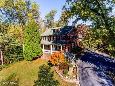 Historic Ellicott City Single Family Home For Sale: 3626 Church Road