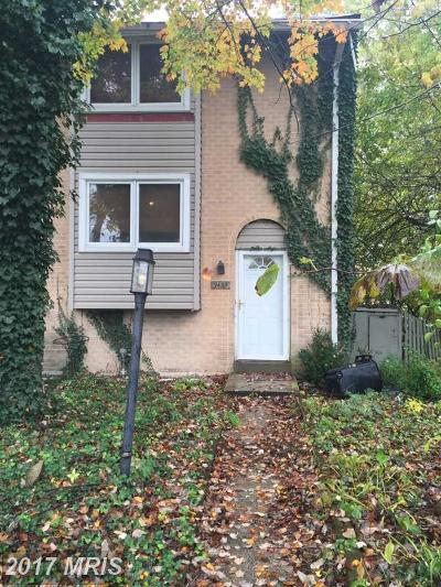 Columbia Townhouse For Sale: 9433 Indian Camp Road