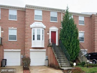 Columbia Townhouse For Sale: 9007 Constant Course