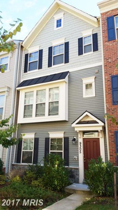 Laurel Townhouse For Sale: 9305 White Chute Way