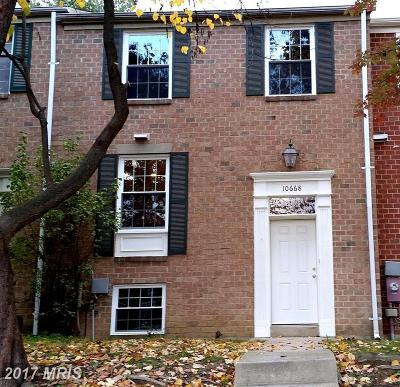 Columbia Townhouse For Sale: 10668 High Beam Court