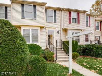 Columbia Townhouse For Sale: 6316 Early Red Court
