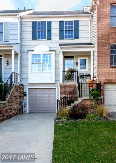 Laurel Townhouse For Sale: 9329 Sombersby Court