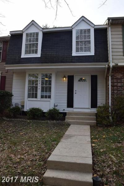 Columbia Townhouse For Sale: 10814 Beech Creek Drive