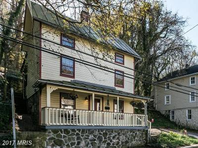 Ellicott City Single Family Home For Sale: 8469 Main Street