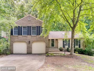 Ellicott City Single Family Home For Sale: 3632 Chateau Ridge Drive