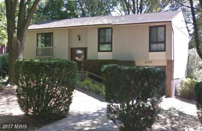 Columbia Single Family Home For Sale: 6157 Stevens Forest Road