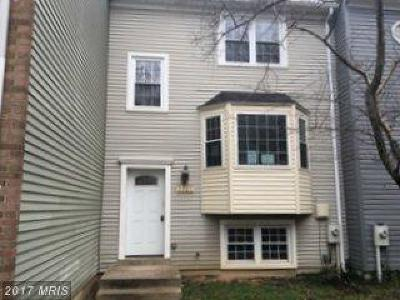 Laurel Townhouse For Sale: 9405 Mayflower Court