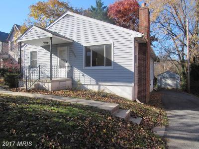 Elkridge Single Family Home For Sale: 5820 Main Street