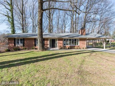 Ellicott City Single Family Home For Sale: 2638 Orchard Avenue