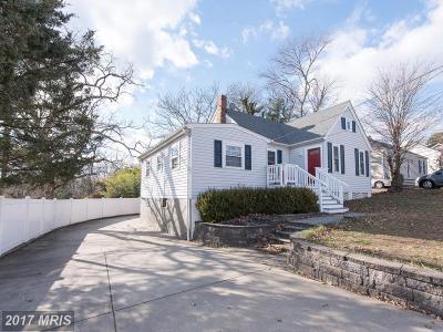 Elkridge Single Family Home For Sale: 5856 Augustine Avenue