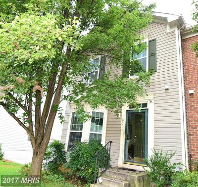 Laurel Townhouse For Sale: 9291 Maxwell Court