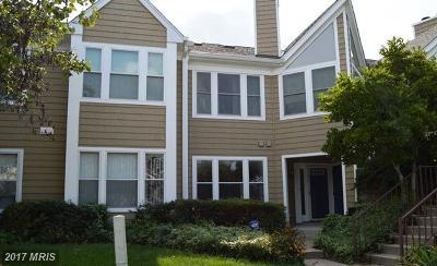Ellicott City Condo For Sale: 7662 Stony Creek Lane #7662