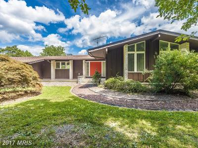 Mount Airy Single Family Home For Sale: 16395 Camalo Drive