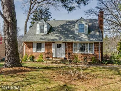 Ellicott City Single Family Home For Sale: 2900 Bethany Lane