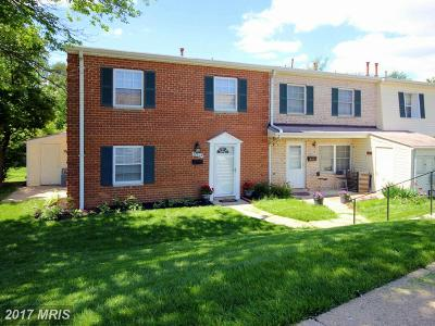 Laurel Townhouse For Sale: 9220 Bridle Path Lane #A