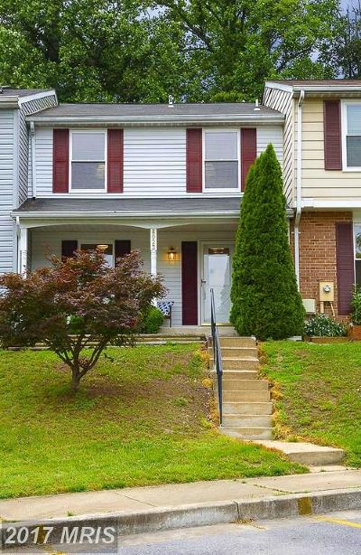 Elkridge Townhouse For Sale: 8023 Green Tree Court