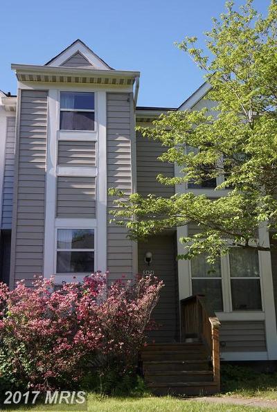 Ellicott City Townhouse For Sale: 3404 Orange Grove Court