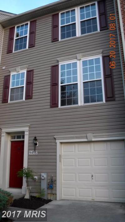 Columbia Townhouse For Sale: 9435 Birdhouse Circle #31