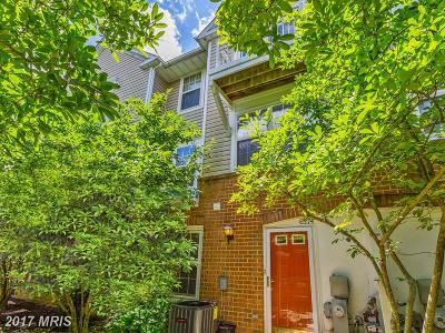 Elkridge Townhouse For Sale: 6374 Bayberry Court #9