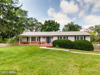 Ellicott City Single Family Home For Sale: 3922 Saint Johns Lane