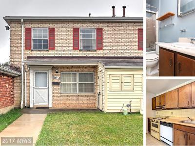 Laurel Townhouse For Sale: 9240 Bridle Path Lane #A