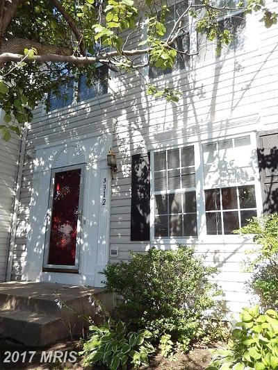 Ellicott City Townhouse For Sale: 3312 Hollow Court