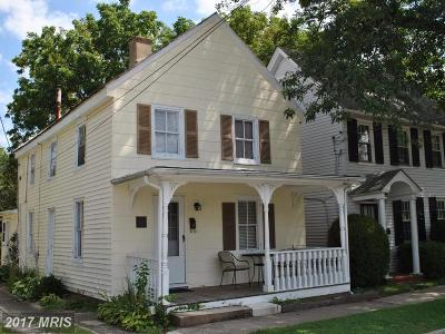 Chestertown Single Family Home For Sale: 222 Calvert Street