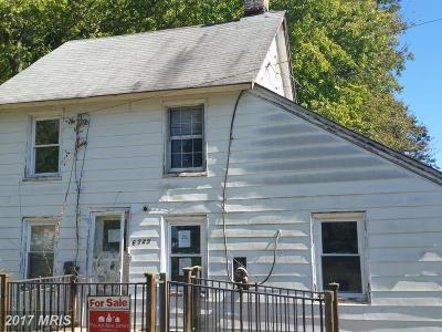 Chestertown Single Family Home For Sale: 6749 Church Lane