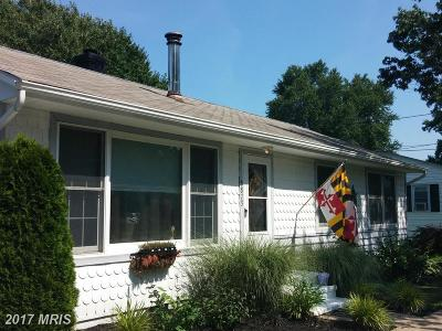 Rock Hall Single Family Home For Sale: 5873 Williams Street