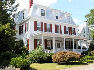 Historic Chestertown Single Family Home For Sale: 106 Water Street N