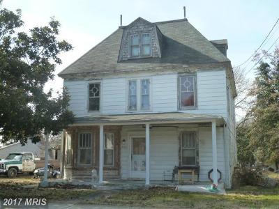 Rock Hall Single Family Home For Sale: 5630 Main Street
