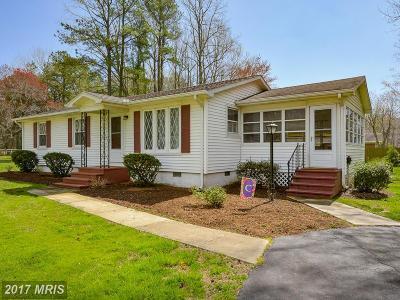 Rock Hall Single Family Home For Sale: 21757 Sunnyside Avenue
