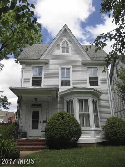 Chestertown Single Family Home For Sale: 111 Maple Avenue