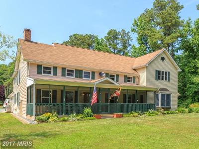 Single Family Home For Sale: 6006 Rock Hall Road
