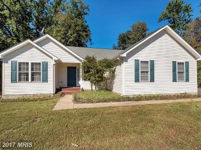 King George Single Family Home For Sale: 10441 Hutchison Lane