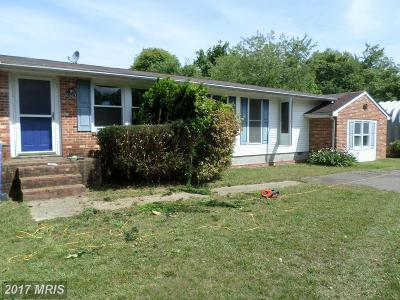 King George VA Single Family Home For Sale: $160,000