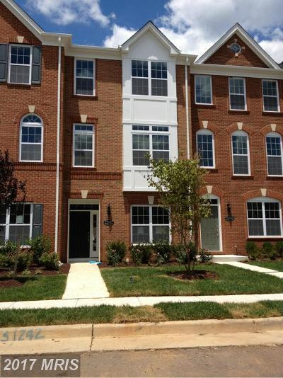 Ashburn Townhouse For Sale: 23087 Weybridge Square