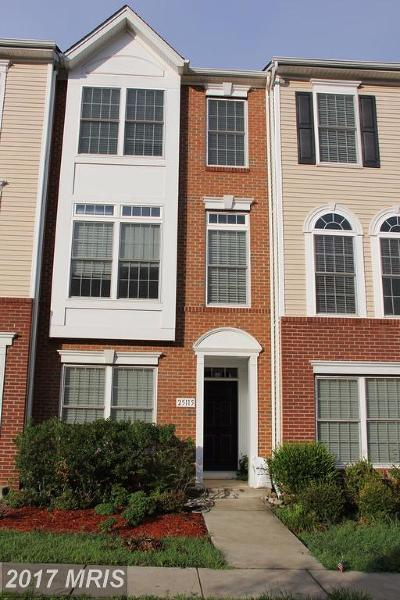South Riding Townhouse For Sale: 25115 Neptune Terrace