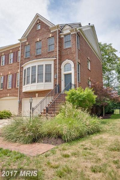 Leesburg Townhouse For Sale: 43755 Bent Creek Terrace