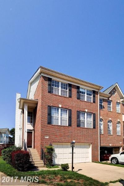 Loudoun Townhouse For Sale: 20857 Pitt Terrace