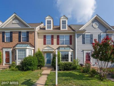 Leesburg Townhouse For Sale: 126 Connery Terrace SW