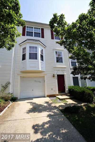 Leesburg Townhouse For Sale: 422 Sparkleberry Terrace NE
