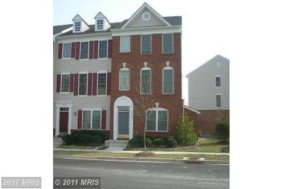 Chantilly Townhouse For Sale: 42831 Sykes Terrace