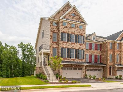 Chantilly Townhouse For Sale: 24998 Glasgow Heights Terrace