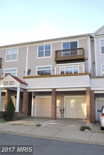 Ashburn Townhouse For Sale: 20455 Quiet Walk Terrace
