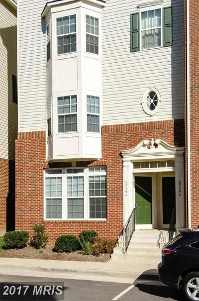 Aldie Townhouse For Sale: 25394 Patriot Terrace