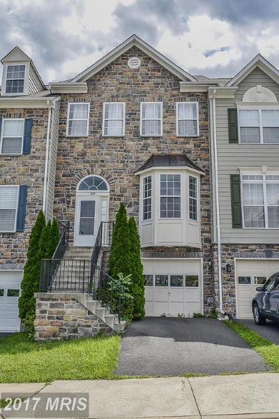 Leesburg Townhouse For Sale: 810 Woodfield Terrace NE